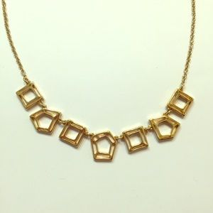 Fun Marc Jacobs gold geometric necklace